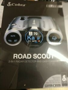 Cobra Elite Series Road Scout 2-In-1 Radar Detector SEALED . Brand new
