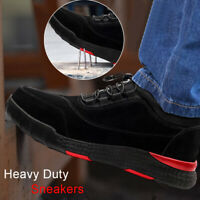 Heavy-Duty Sneakers Soft Flexible Breathable Safe Protective Worker Shoes 36-45