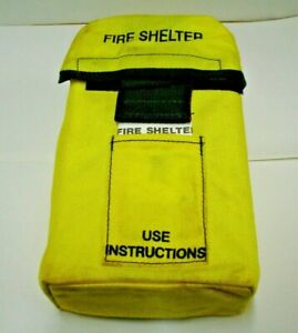 New FSS Fire Shelter with Belt Clips Emergency Fire Protection Firefighter NOS
