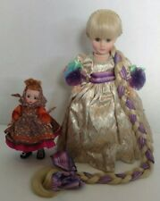 """Madame Alexander  """"RAPUNZEL AND MOTHER-GOTHEL"""" 1539 Limited Edition Set with Box"""
