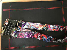 Ed Hardy by Christian Audigier 'Collage' Lanyard