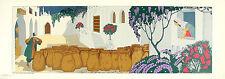 MIDDERIGH BOKHORST Vintage 1938 Chromolitho ALI BABA AND THE 40 THIEVES, Beauty!