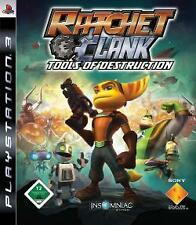 Playstation 3 RATCHET + CLANK 5 TOOLS OF DESTRUCTION GuterZust.