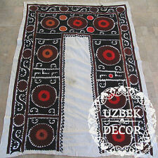 UZBEK SILK HAND EMBROIDERED SUZANI JOYPYSH # 8488