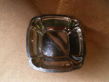 Reed & Barton Silverplate Square Candy Dish, Shannon #1023