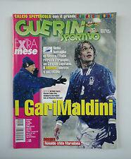 GUERIN SPORTIVO 1997- n. 44 - I GARIMALDINI + FILM DEL CAMPIONATO + POSTER