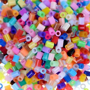 1000X/Set DIY 2.6mm Mixed Colours HAMA/PERLER Beads for GREAT Kids Fun Craft  Ri