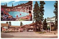 Travel Lodge South Tahoe California Vintage Postcard