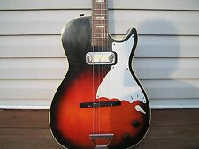 Vintage 1962 Harmony Stratotone tobacco burst  Electric Guitar