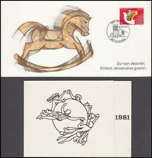 SWITZERLAND 1979 AND 1981 SIGNED CARDS DIRECTOR GENERAL (ID:405/D39260)