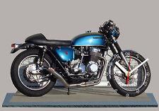 MODEL CARS, MOTO, BIKE, HONDA 750 FOUR-04 with Clock,11,8x 7,8 inches,