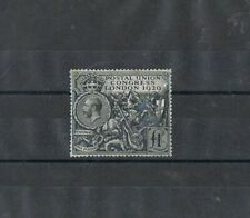UK - 1929 1 £ noir, GEORGE V. MNH
