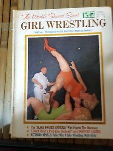 Vintage All Pro Female/Girl/Women/Ladies Wrestling Magazine from Summer 1965