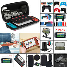 For Nintendo Switch 2DS 3DS XL LL Travel Carrying Bag Case Cover W/ Accessories