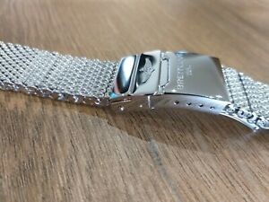 Breitling Ocean Classic mesh 22mm Bracelet for Heritage Chronospace Transocean