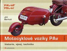 Book - Motocyklove voziky PAv - Czech Motorbike Scooter Trailers - Jawa CZ Vespa