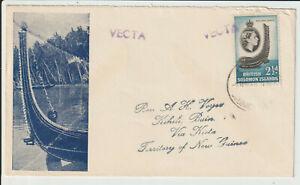 """SOLOMON ISLANDS - """" VECTA """" 1960 ILLUS.COVER"""