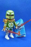 Playmobil MJ-8 Series-15 Boys 70025 Green Superhero Knight Figure