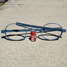 Vintage Pop Art Oversize Eyeglasses Metal Wall Hanging Optical Yard Decoration