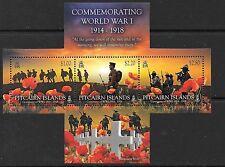 PITCAIRN ISLANDS SGMS910 2015 WORLD WAR ONE MNH