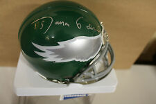 PHILADELPHIA EAGLES ROMAN GABRIEL QB SIGNED MINI HELMET