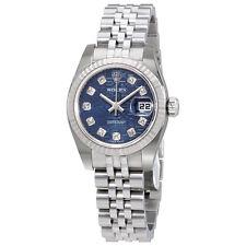 Rolex Lady Datejust 26 Blue Jubilee Dial Stainless Steel Rolex Jubilee