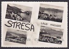 VERBANIA STRESA 148 VEDUTINE - LAGO MAGGIORE Cartolina FOTOGRAFICA