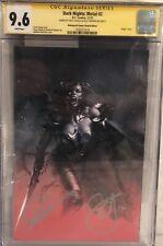 Dark Nights:Metal #2 CGC SS 9.6 Dell'Otto Bulletproof Sketch Ed. Signed Snyder