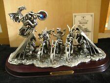 More details for myth & magic - daredevil - tudor mint motor bike stunt jump dragon - limited 500