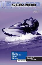 seadoo owners manual in parts accessories ebay rh ebay ca 2001 Seadoo Speedster 240 HP 2001 Seadoo Speedster Specs