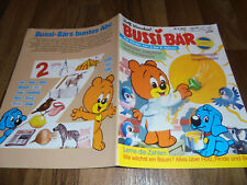 Rolf Kauka / BUSSI BÄR # 4 / 1993 -- Bastelbogen: Vogelmobile