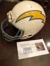 San Diego Chargers Promo Full Helmet - NFL Licensing for 75th Anniversary