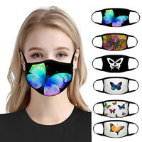 Women Reusable Butterfly Anti-UV Dust Face Mouth Cover Protective Mask Trendy