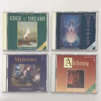New World Music Edge Of Dreams Earth Healer Mysteries Alchemy 4 CDs Album Music