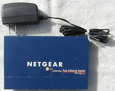 Netgear Fs108 8Port Fast Ethernet 10/100 Ethernet Network Switch Internet 8 port