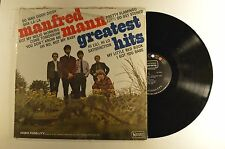 manfred mann lp greatest hits  ual 3551 mono in shrink  vg+/vg+