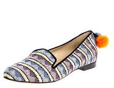Women's Textile Multi-Coloured Flats