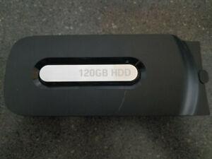 Microsoft XBOX 360 BLACK 120GB External Hard Disk Drive HDD Genuine