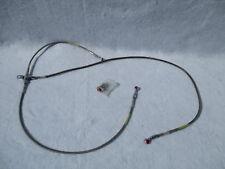 "Goodridge stainless steel braided brake hose line 29.5"" 45"" 17""   harley indian"