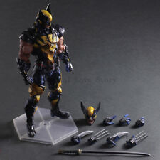 Square Enix Variant Play Arts Kai Universe Wolverine PVC Action Figure Toy New