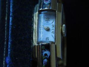 Vintage  Bucherer 17 Jewel Cuff Watch Hand Wind        WORKS  No reserve