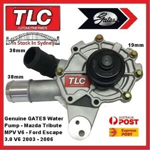 Water Pump & Housing 43505 Mazda Tribute MPV & Ford Escape 3.0 V6 03 04 05 06
