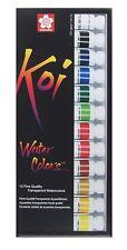 Sakura Koi Watercolor Tubes Set of 12 Colors 15261 Art