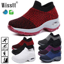 Women Air Cushion Sneakers Casual Sports Breathable Running Tennis Shoes Trainer