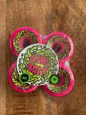 Santa Cruz Slime Balls Og Slime Skateboard Wheels 66mm 78a Pink