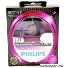 Philips ColorVision H7 MORADO Bombillas Halógena Juego de 2-12972cvpps2 NUEVO