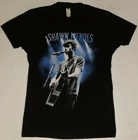 SHAWN MENDES North American Tour 2015 Junior Size XS Black T-Shirt