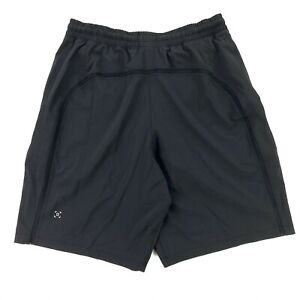"NEW Lululemon Recent Mens Pace Breaker Shorts 9"" Lined Drawstring Black •MEDIUM"