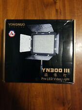 Yongnuo YN300III Camera LED Video Light Lamp 5500k for Canon Nikon DSLR Camcorde