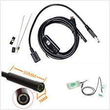 Car Off-Road Smart Cellphone 7mm USB Endoscope Inspection Camera Borescope 6-LED